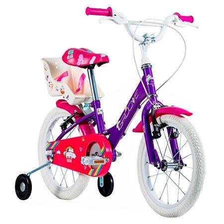 Bicicleta Infantil Groove Unilover Aro 16 - 2021 Violeta