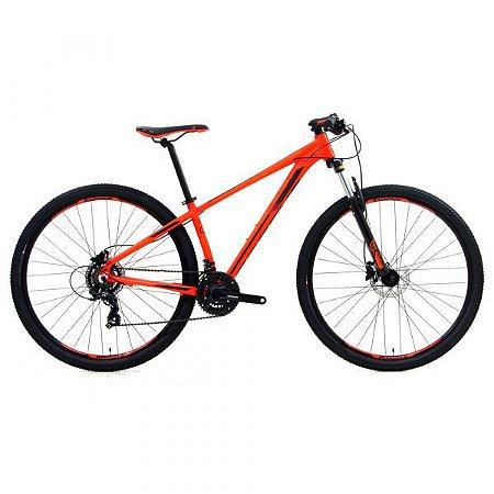 Mountain Bike Groove Hype 10 Vermelho/Cinza - 2021
