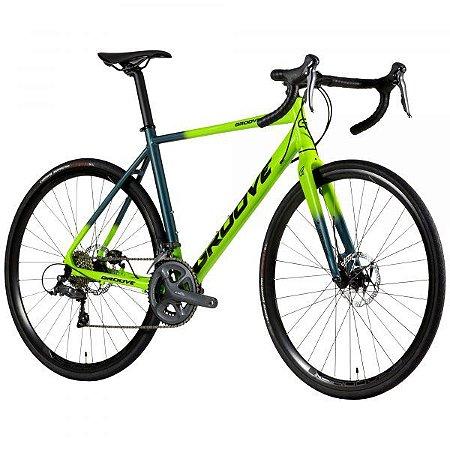 Road Bike Groove Overdrive 50 Verde - 2021