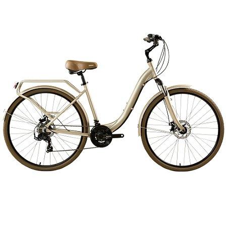 Bicicleta Urbana Groove Urban ID 21v Dourada - 2021
