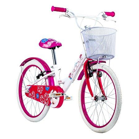 Bicicleta Infantil Groove My Bike 20 Branca - 2021