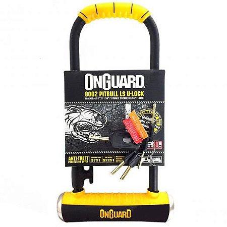 CADEADO U-LOCK, ONGUARD PITBULL 8002