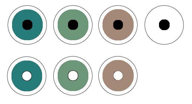 Hidrosol Filtrante Leucoma - Com pupila preta ou transparente