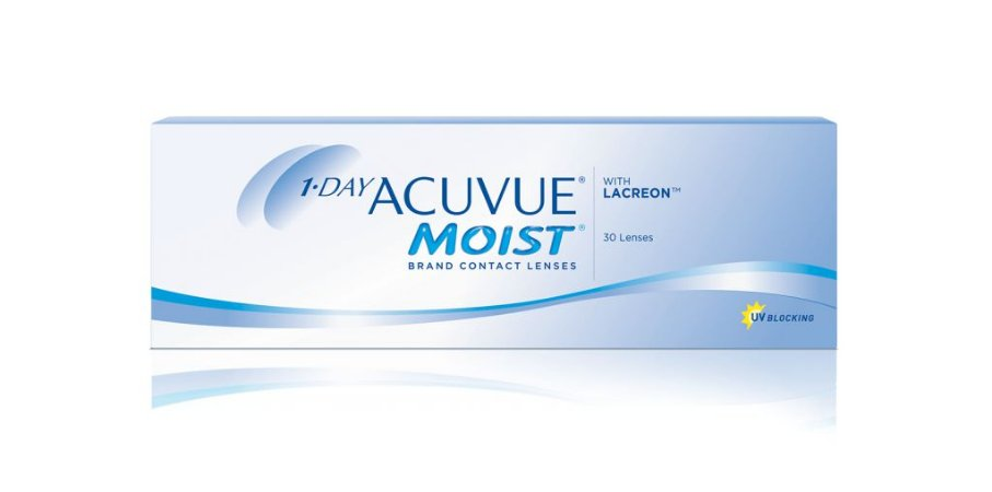 DAY ACUVUE MOIST® com LACREON
