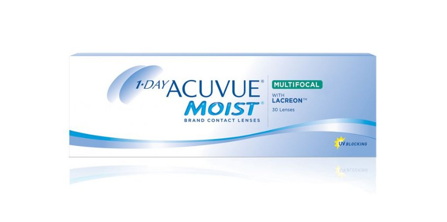 DAY ACUVUE MOIST® MULTIFOCAL com LACREON®