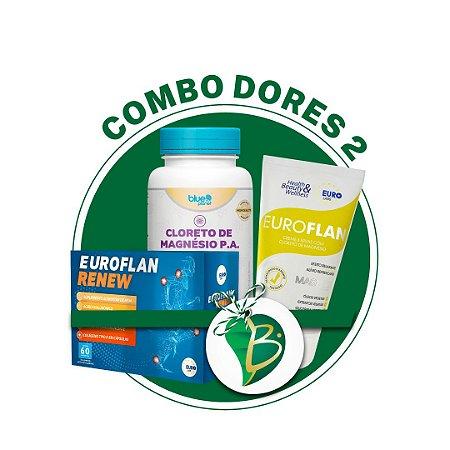 COMBO DORES 2 - EUROFLAN RENEW + CLORETO DE MAGNÉSIO P.A + EUROFLAN CREME