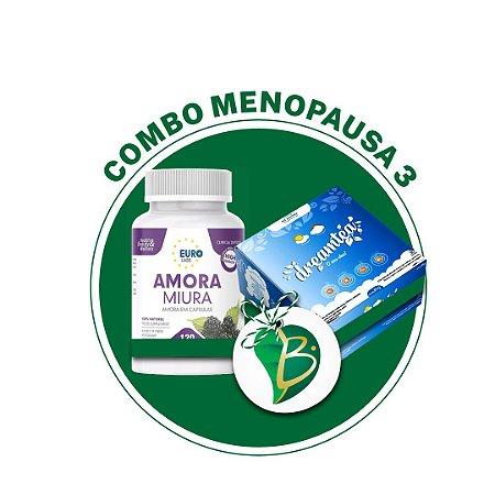 COMBO MENOPAUSA 3 - CHÁ DREMA TEA + AMORA MIURA
