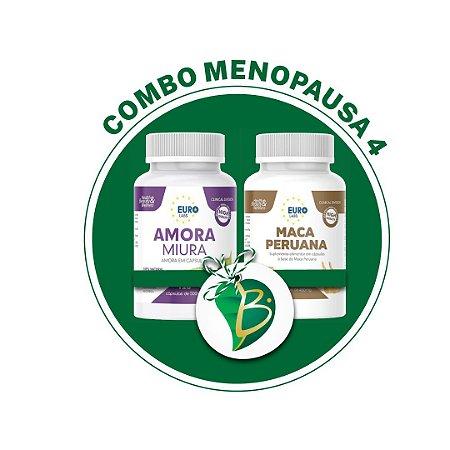 COMBO MENOPAUSA 4 - AMIORA MIURA + MACA PERUANA