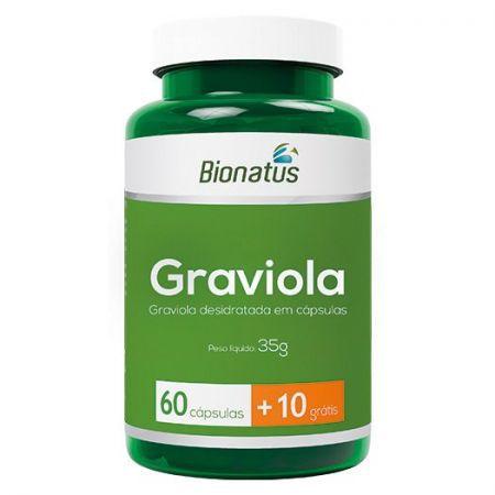 Graviola Green - 60 cápsulas + 10 grátis
