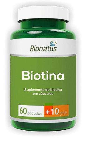 Biotina Green - 60 cápsulas + 10 grátis