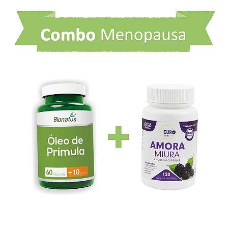 Menopausa! Óleo de Prímula + Amora Miura