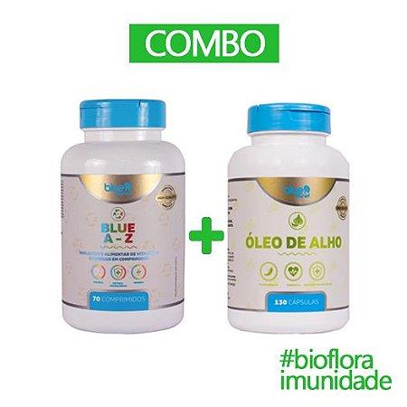 COMBO IMUNIDADE 2 - ÓLEO DE ALHO + BLUE A Z
