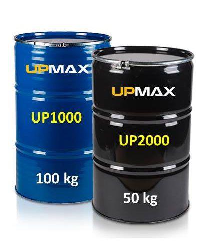 Resina UP1000 e Endurecedor UP2000 Baixa Viscosidade [150kg]