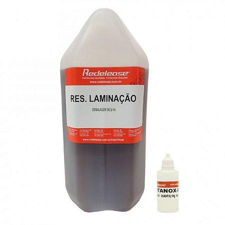 Resina: Ortoftalica / Laminação (Com Catalisador) [5,100 Kg] UPMAX