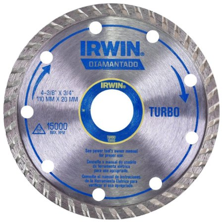 DISCO CORTE DIAM. 4 IRWIN TURBO  002146