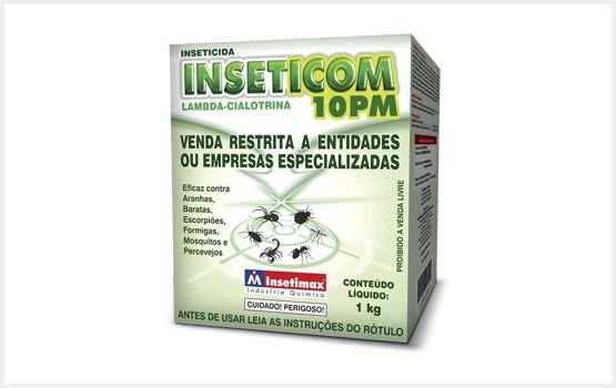INSETICOM 10PM C/25GR  INSETIMAX