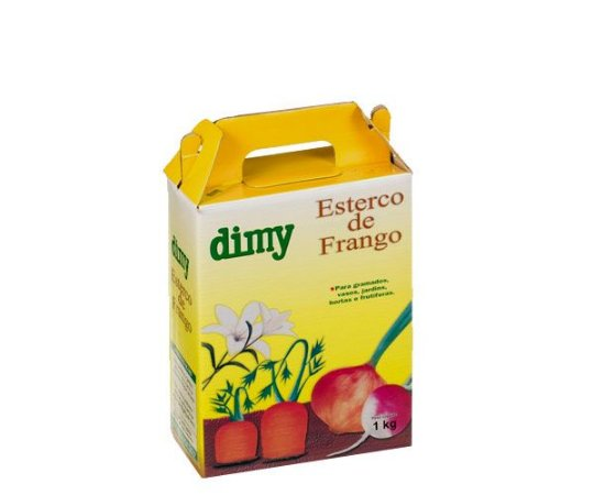 DIMY ESTERCO FRANGO C/01KG