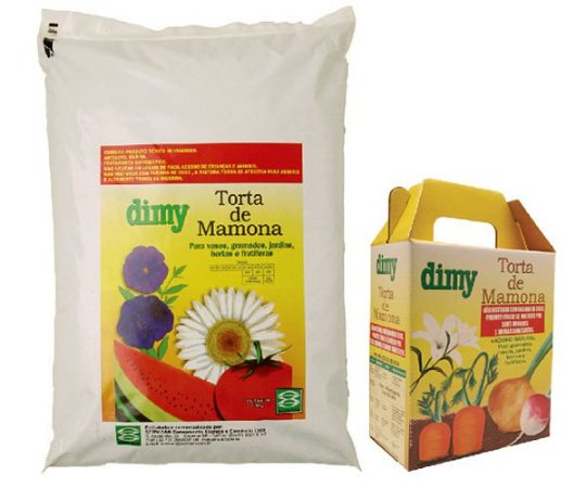 DIMY TORTA DE MAMONA C/01KG