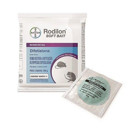 RATICIDA RODILON SOFT BAIT C/200GR