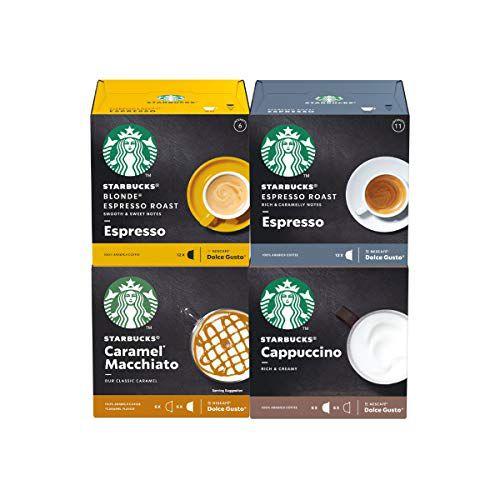 48 Cápsulas Dolce Gusto Starbucks – 4 Caixas