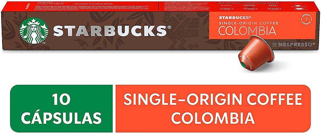 Café em Cápsula, Starbucks, Nespresso, Colombia, 10 Cápsulas