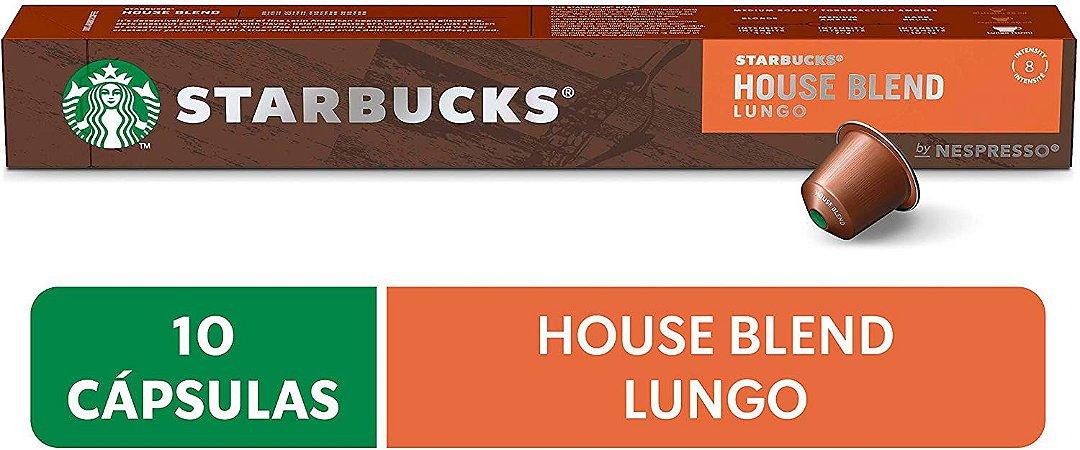 Café em Cápsula, Starbucks, Nespresso, House Blend, Lungo, 10 Cápsulas
