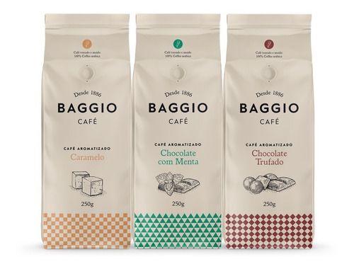 Café Moído Aromas 3 Sabores Baggio