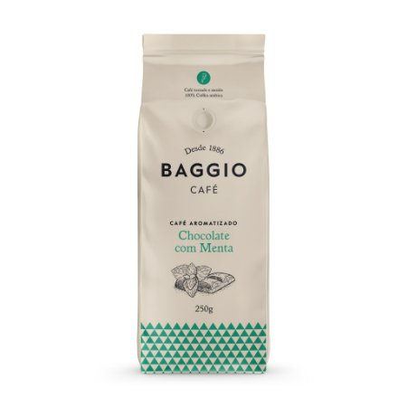 Café Moído Chocolate com Menta Baggio 250g