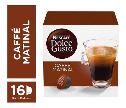 Capsula De Café P/ Cafeteira Dolce Gusto - Matinal 16 Unid.