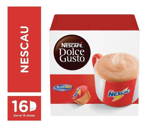 Capsula De Café P/ Cafeteira Dolce Gusto - Nescau 16 Unid