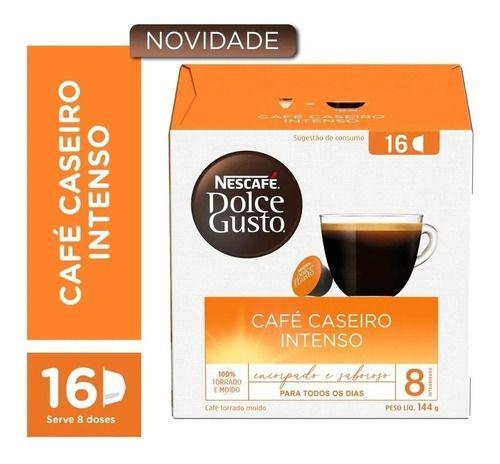 Capsula De Café P/ Cafeteira Dolce Gusto - Caseiro 16 Unid.
