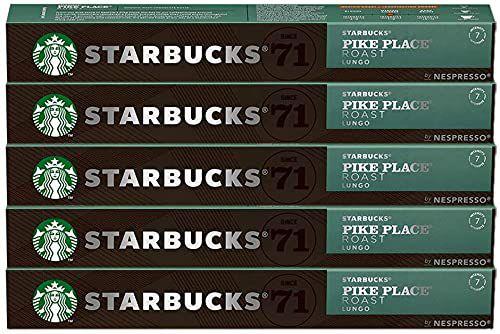 Kit de Café de Starbucks Pike Place by Nespresso - 50 cápsulas