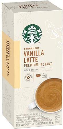 Sachê Solúvel Starbucks Vanilla Cappuccino - 4 unidades