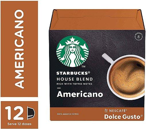 Cápsulas Starbucks Dolce Gusto House Blend 12 Unidades