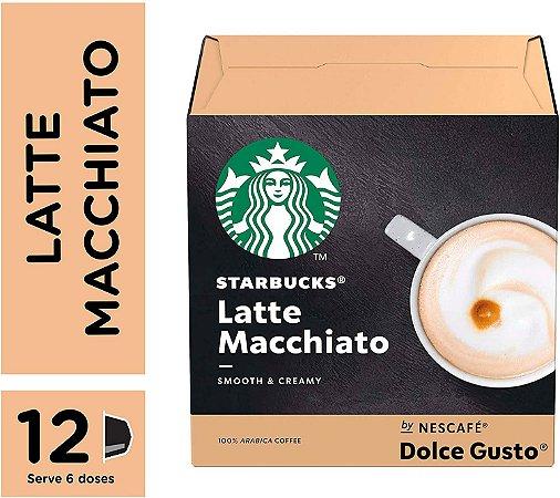 Cápsulas Starbucks Dolce Gusto Latte Macchiato 12 Unidades