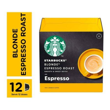 Cápsulas Starbucks Dolce Gusto Blonde Espresso 12 Unidades