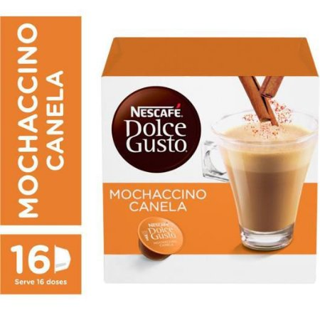 Cápsula De Café Dolce Gusto Mochacino Canela 16 Unid
