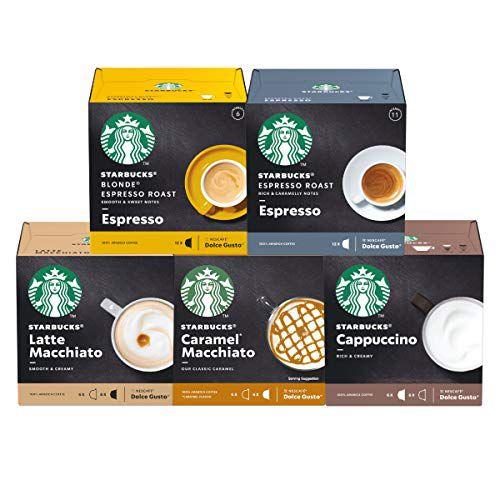 60 Cápsulas Dolce Gusto Starbucks – 5 Caixas - Degustação Café E Bebida
