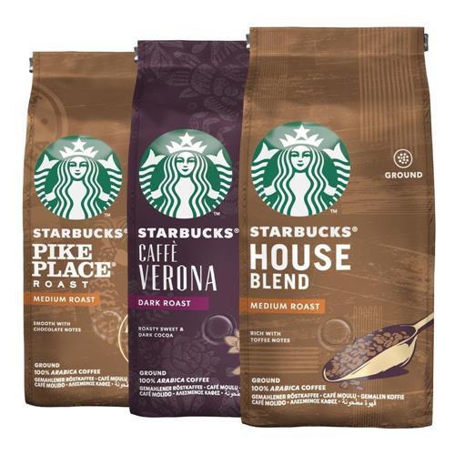 Café Em Pó Starbucks, 100% Arábica, 3 Pacotes, 750G