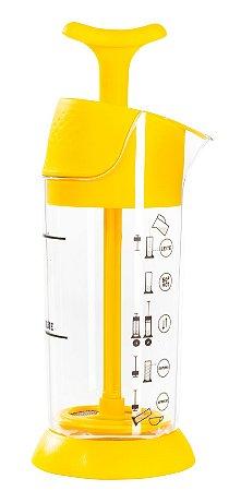 Cremeira Espumador Aeroccino Pressca - Amarelo