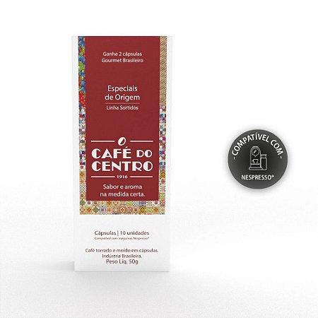 Kit Cápsulas Nespresso Preço na Promoção Café do Centro 06 Caixas 60 Unidades