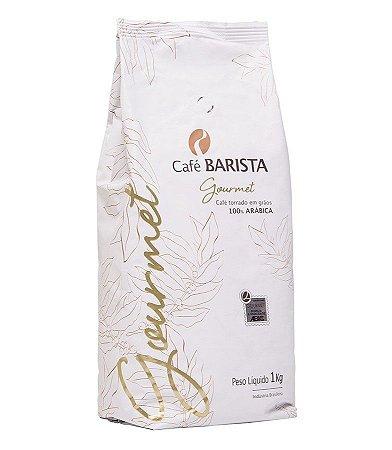 CAFÉ BARISTA GOURMET EM GRÃOS 1kg
