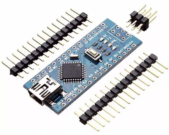 Arduino Nano v3 sem cabo e soldas.