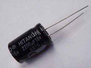 Capacitor Eletrolítico 2200uf 16v
