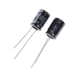 Capacitor Eletrolítico 100uf 50v