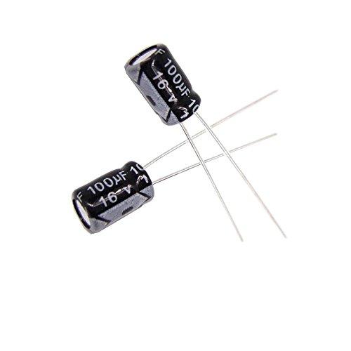 Capacitor Eletrolítico 100uf 16v