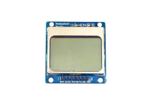 Display LCD Nokia 5110 azul