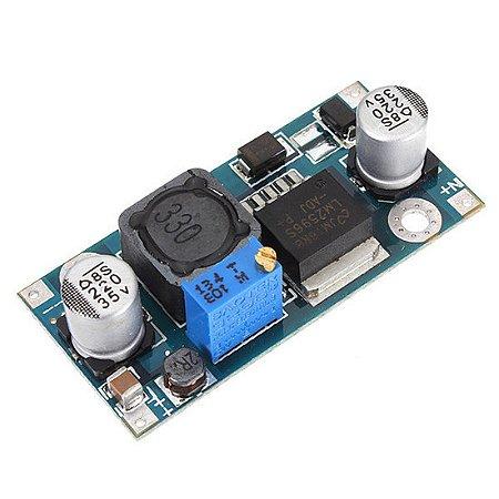 Módulo de tensão ajustável LM2596