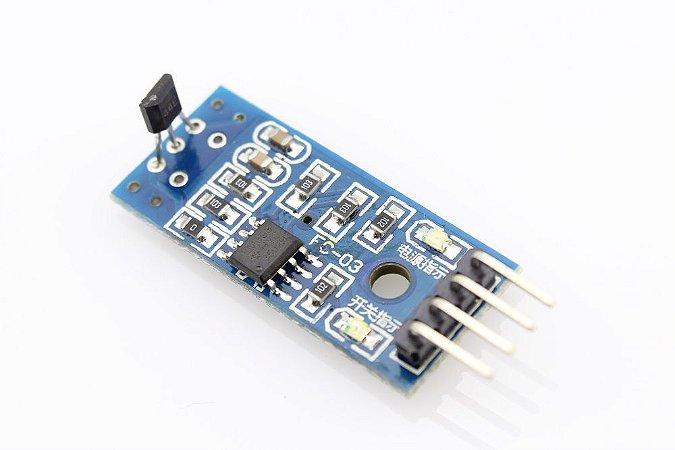 Módulo Sensor 3144e - Efeito Hall - Sensor De Velocidade