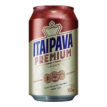 ITAIPAVA PREMIUM LATA 350ML